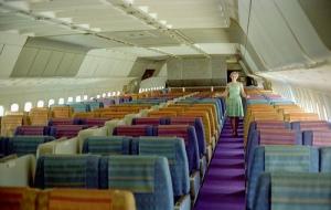 The main cabin onboard an Eastern 'Whisperliner'