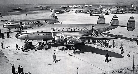 Koninklijke Luchtvaart Maatschappij N.V. (Royal Aviation Company) or KLM for short.