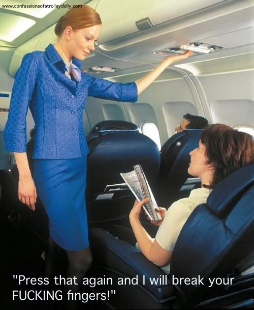 Used For - You know you're cabin crew when
