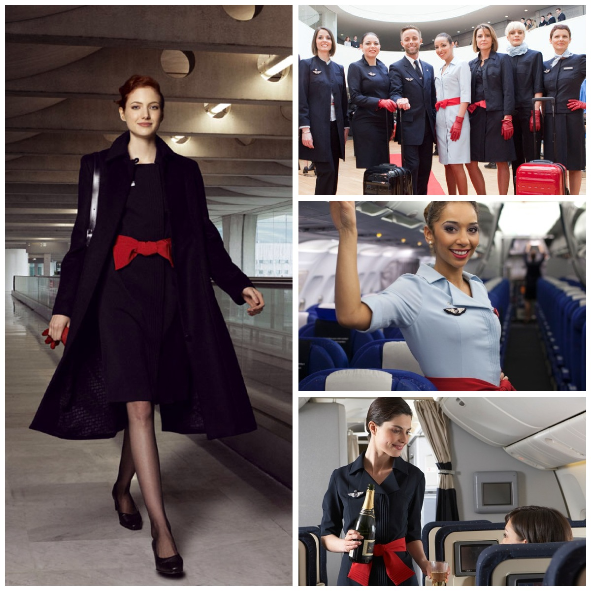 Style In The Aisles The Top Ten Cabin Crew Uniforms of  : image from confessionsofatrolleydolly.com size 1200 x 1200 jpeg 327kB