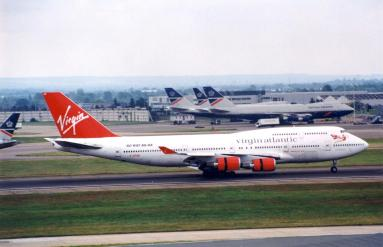 The airline introduced the Boeing 747-400 in January 1994. The first of the type was G-VFAB or 'Lady Penelope' and coincided with the launch of a new route between Heathrow and Hong Kong.