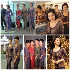 Singapore Airlines by Pierre Balmain.