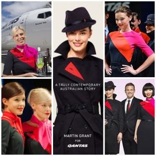 Qantas by Martin Grant.