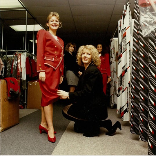 The second uniform incarnation was designed in 1991 and launched the now iconic Virgin 'Ruby Red'.
