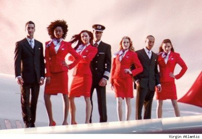 Virgin Atlantic cabin crew have been the face of the airline for 30 years. The stunning boys and girls in their 'ruby red' uniforms have become an iconic feature of airports around the globe. They are frequently voted the best looking cabin crew in the world.