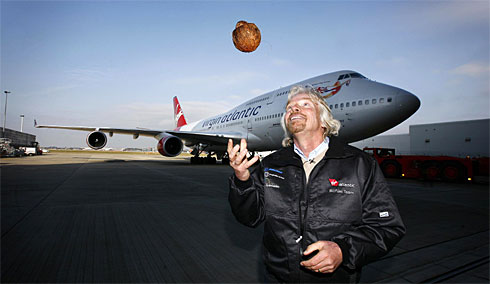 In 2008, Virgin became the worlds first airline to operate a bio-fuel powered Boeing 747 flight between London and Amsterdam.