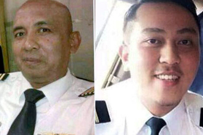 Captain Zaharie Bin Ahmad Shah and First Officer Fariq Bin Ab Hamid.