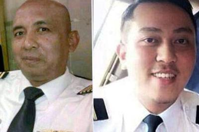 Captain Zaharie Bin Ahmad Shah and First Officer Fariq Bin Ab Hamid.