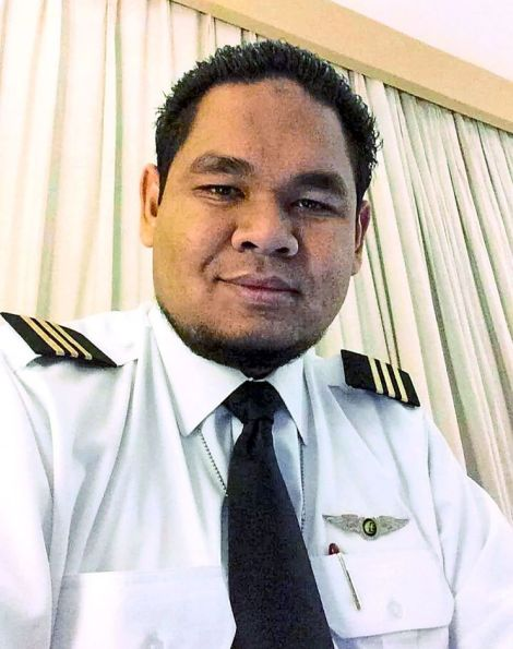 First Officer Muhamad Firdaus Bin Abdul Rahim, 27.