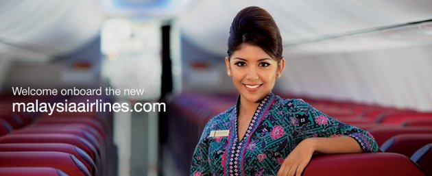 malaysia airlines welcome you…..
