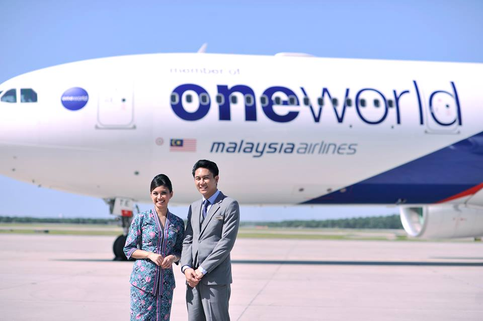 Malaysia Airlines Oneworld