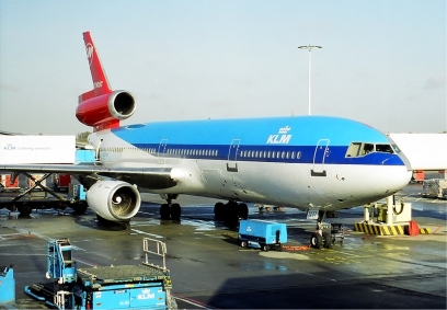In July 1989, KLM purchased a 20% stake in US carrier Northwest Airlines. This cooperation took a step further, when the airlines set up a joint venture on services between the US and Amsterdam, after the US department of Transportation granted them antitrust immunity. A number of aircraft were subsequently painted in a hybrid KLM/Northwest livery, including this McDonnell Douglas DC-10-30.