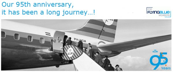 KLM 95 years.....