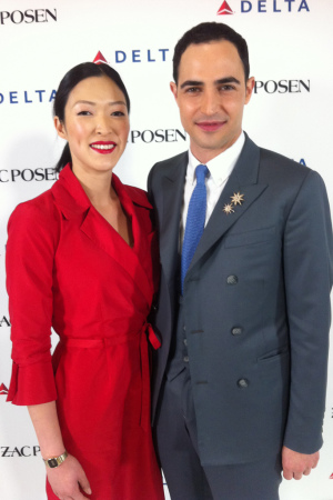 Zac Posen lands a deal with Delta to design uniforms for 20,000 flight attendants and 10,000 other staffers.