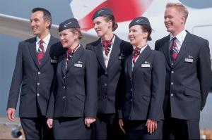 British Airways cabin crew.