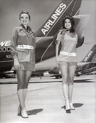 During the 1960's airlines used