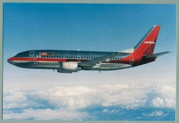 US Air became the launch customer for the Boeing 737-300, taking delivery of its first plane on November 28, 1984. The aircraft formed the back bone of the airlines fleet for over 28 years.
