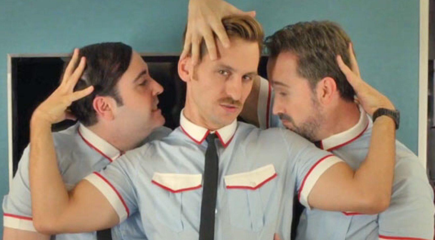 Gay flight attendant hookup
