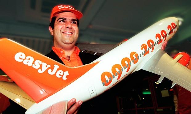 easyJet founder Sir SteliosHaji-Ioannou.