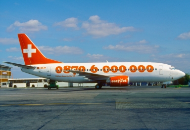 In March 1998 easyJet purchased a 40% stake in Swiss charter airline TEA Basel for 3 million Swiss francs. The airline was later renamed easyJet Switzerland and commenced franchise services on April 1, 1999.