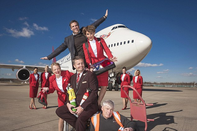 Virgin Atlantic 'Up In The Air' TV Series.
