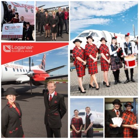 Loganair by Matrix Uniforms.