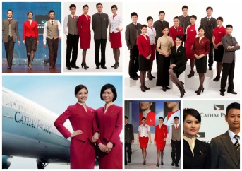Cathay Pacific by Eddie Lau.