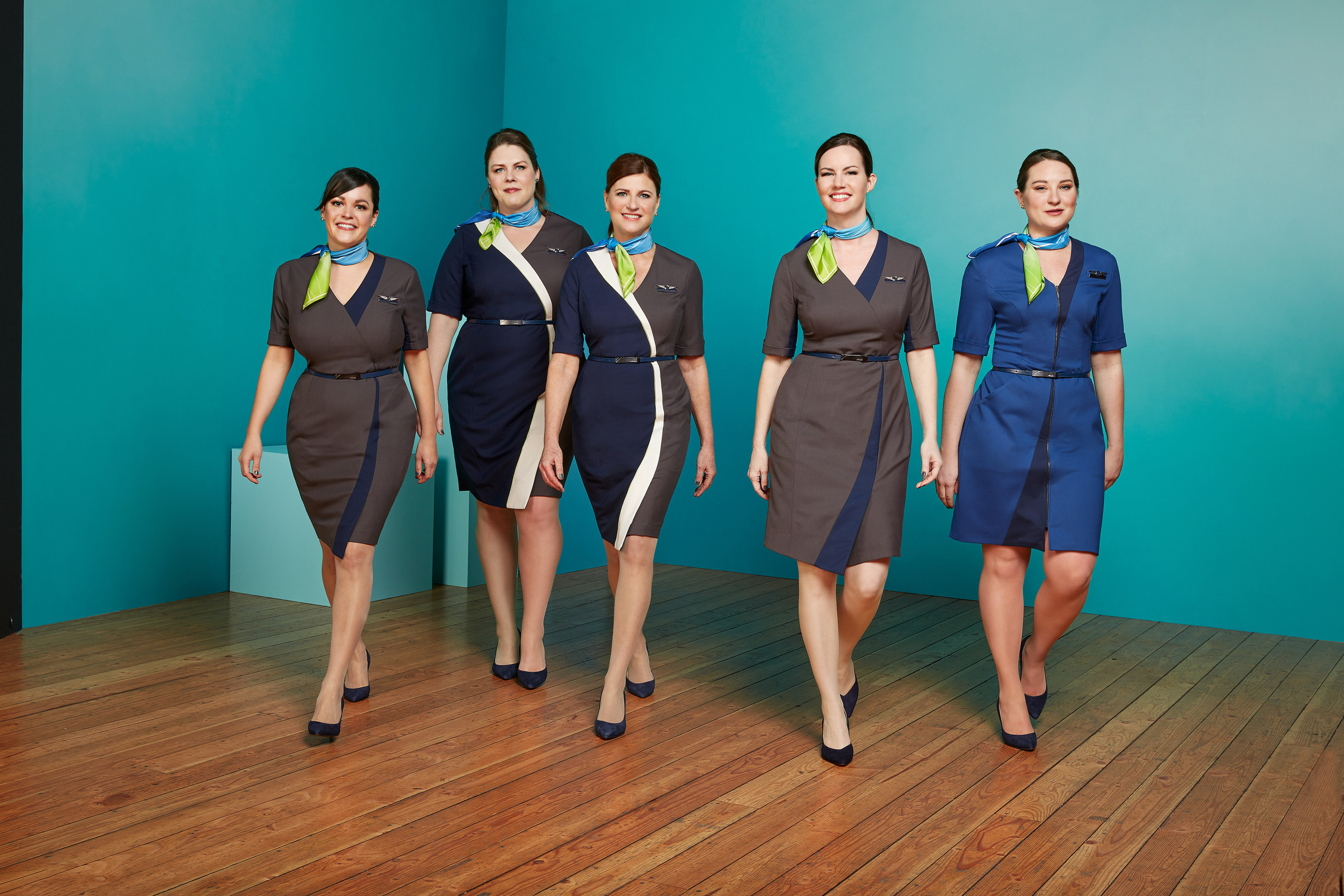 Alaska Airlines Dresses