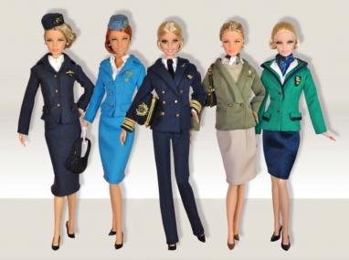 Barbie Loves Alitalia.