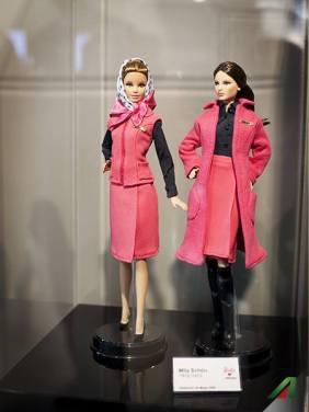 Barbie Loves Alitalia, Mila Schon.