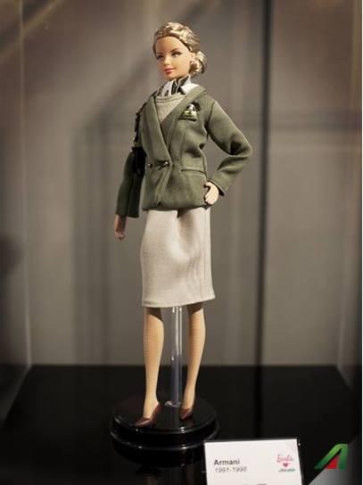 Barbie Loves Alitalia, Giorgio Armani.