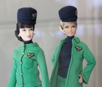 Barbie Loves Alitalia, Mila Schon.