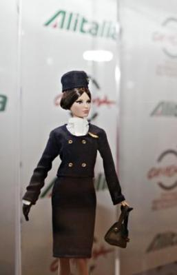 Barbie Loves Alitalia, Tita Rossi.