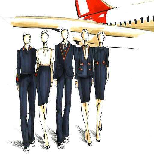 Used For - Iberia New Uniform